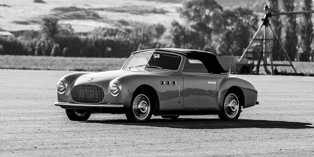Cisitalia 202 Cabriolet stabilimenti farina 1949